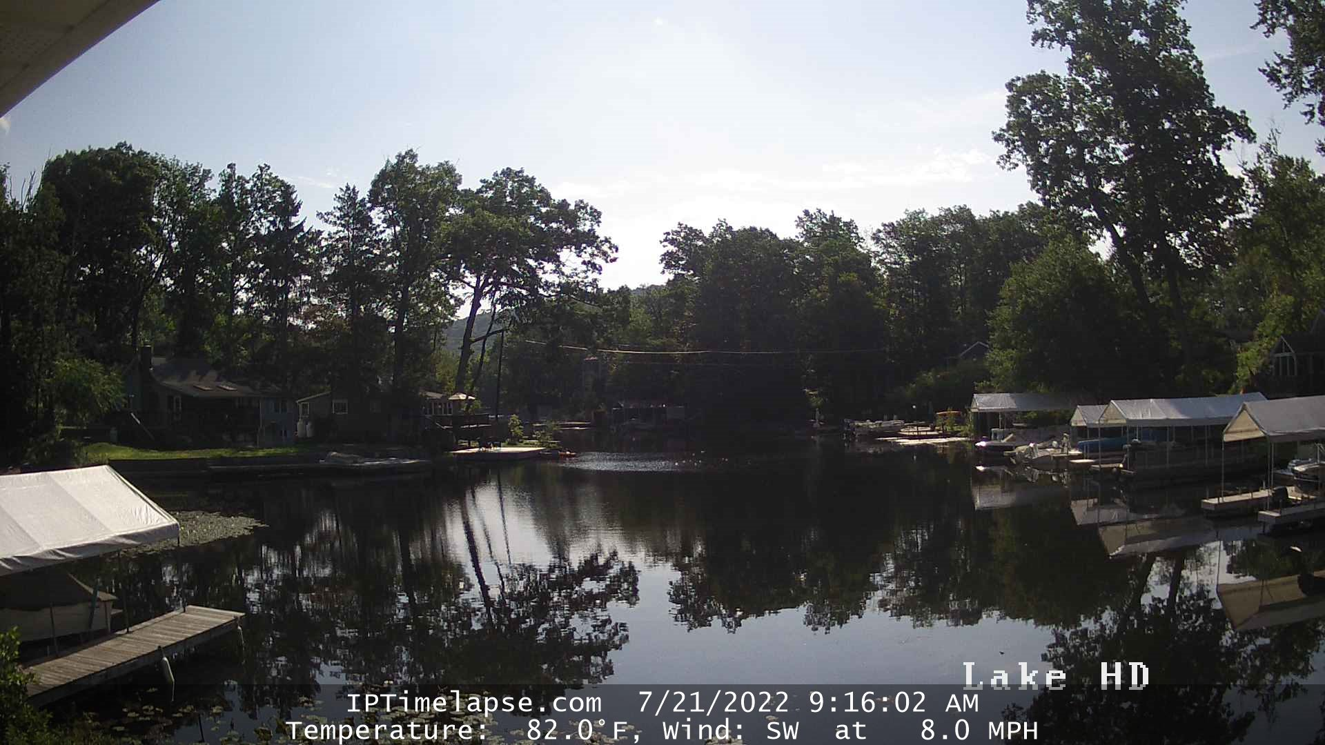 Webcam Cranberry Lake - New Jersey